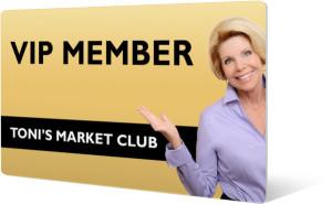 Toni's Market Club VIP Member