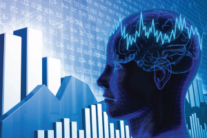 stock market psychology cropped looking left